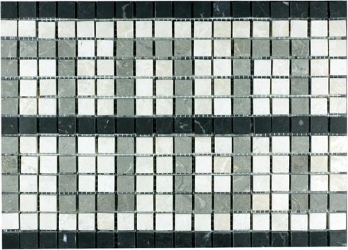 SAM Mosaic Border Pattern Bottocino