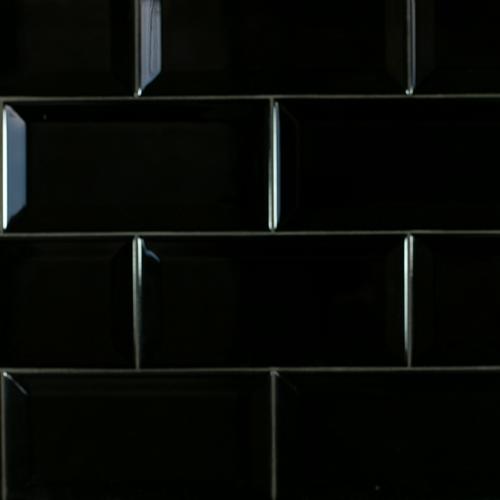 Metro Biselado Negro