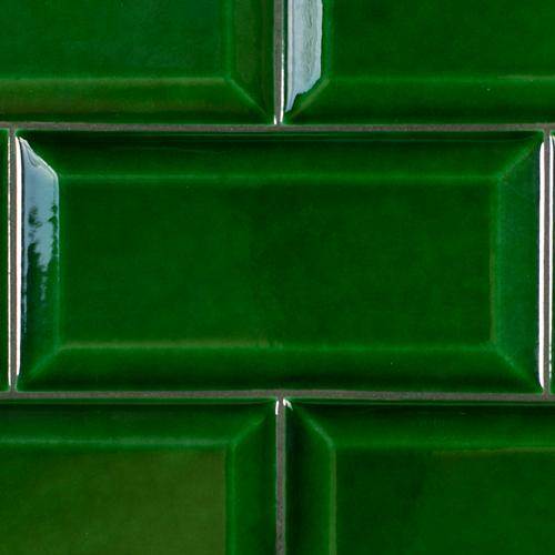SAM Metro Biselado Verde Cobre