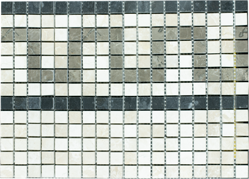 SAM Mosaic Border Half Pattern Bottocino