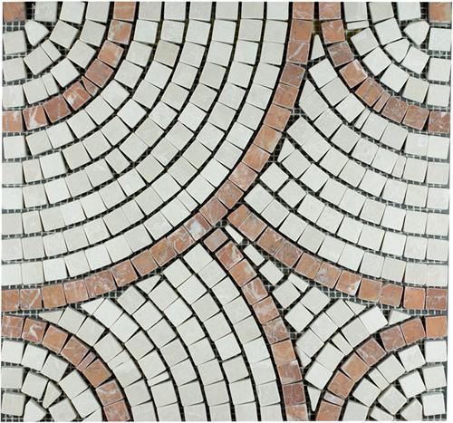 SAM Mosaic Circle Bottocino