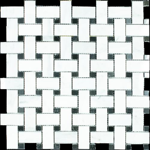 Mosaic Cross Basket