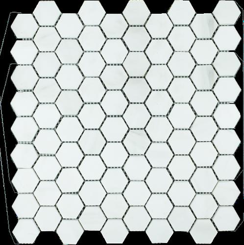 SAM Mosaic Hexagon Plain Dolomit