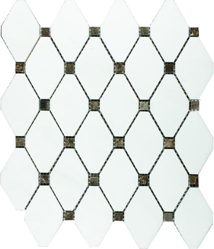 Mosaic Long Octagone Dolomit