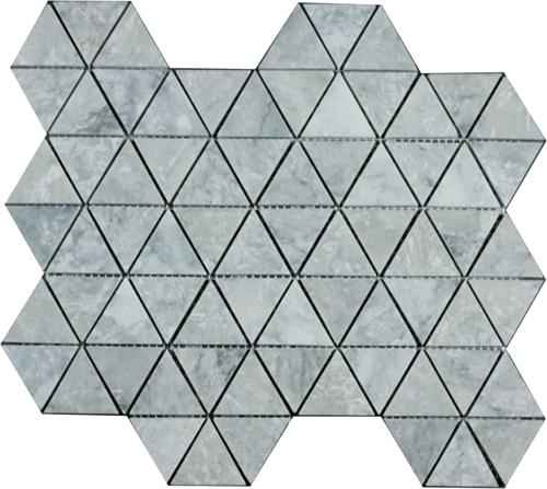 Mosaic Triangle Silver Shadow