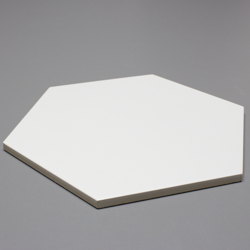 Piso Hexagone Ice White