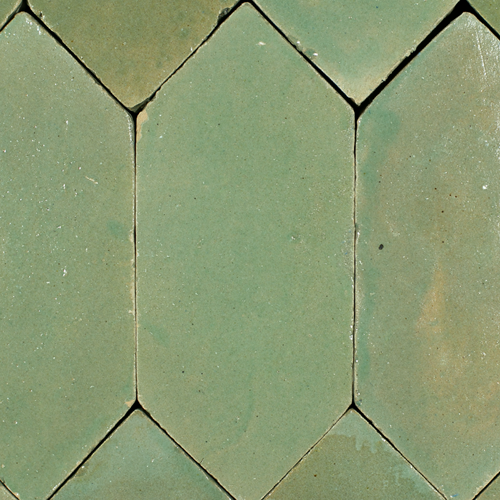 SAM Platta Vert Gris Art Deco