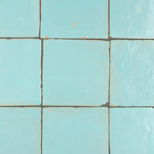 Platta Bleu Celeste Mat 10x10cm