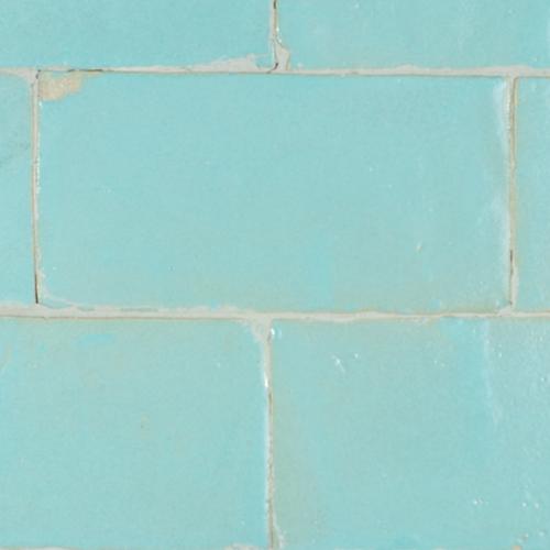 SAM Platta Bleu Celeste Mat 7.5x15cm