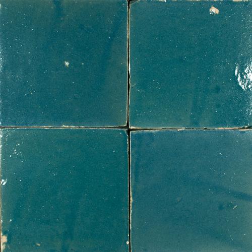 Platta Bleu Marine 10x10cm