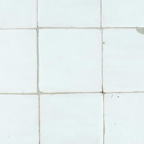Platta Neige Blanc 13x13cm