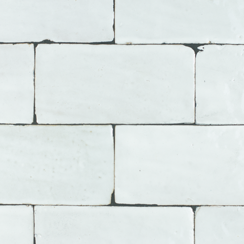Platta Neige Blanc 7.5x15cm