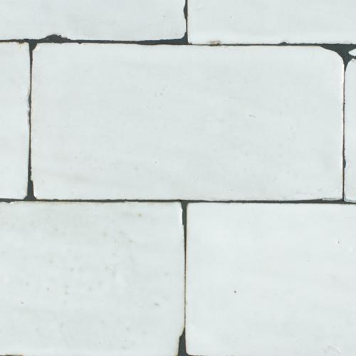 SAM Platta Neige Blanc 7.5x15cm
