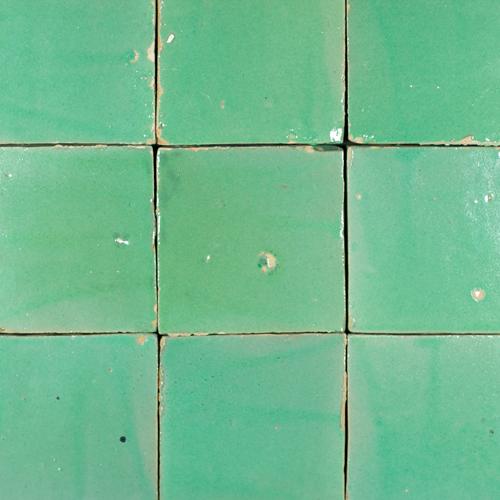 Platta Turquoise 10x10cm