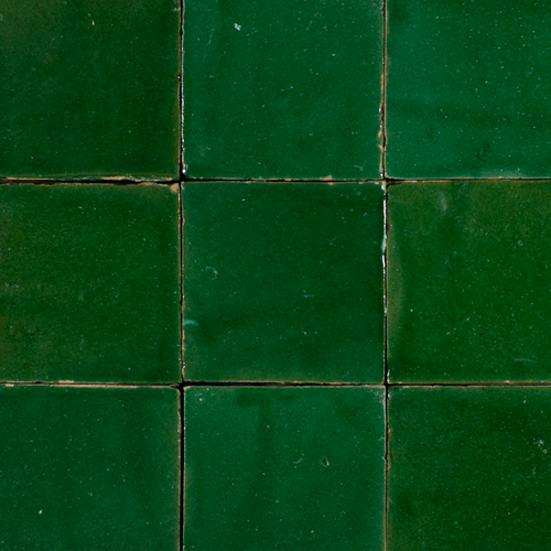 Platta Vert Foncee 10x10cm
