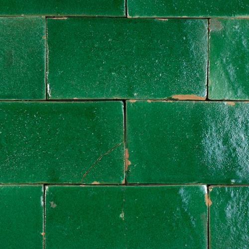 SAM Platta Vert Foncee 7.5x15cm