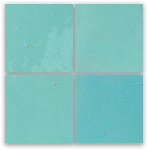 Zellige Bleu Ciel 10x10cm