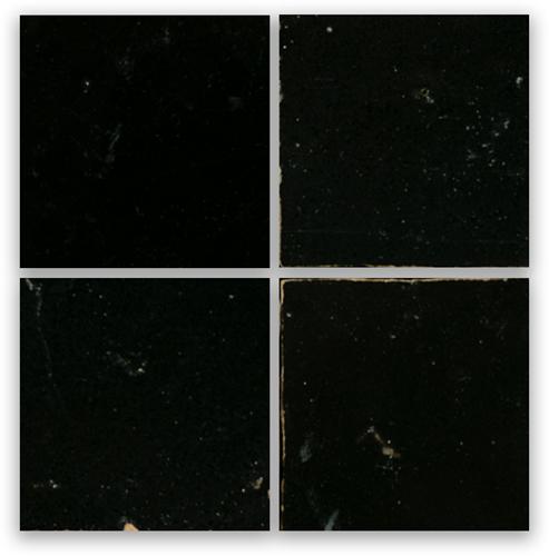 Zellige Noir 10x10cm