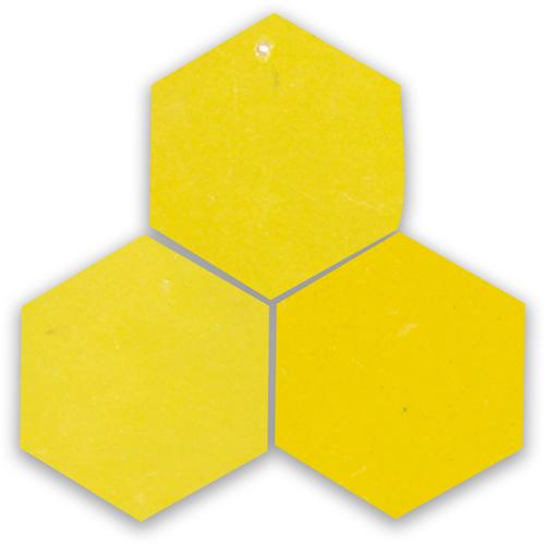 Zellige Citron Hexagone