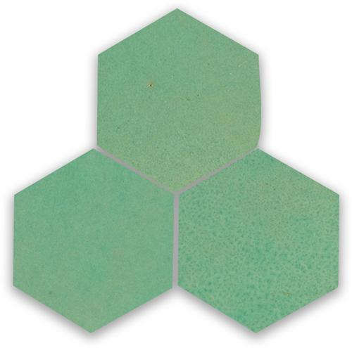 SAM Zellige Turquoise Hexagone