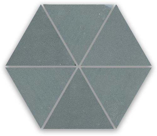 SAM Zellige Anthracite Triangle