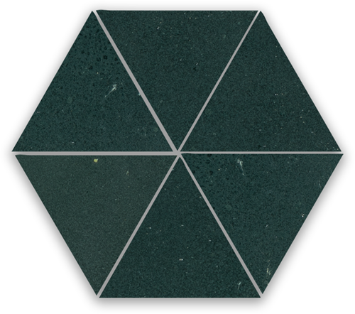 SAM Zellige Charcoal Triangle