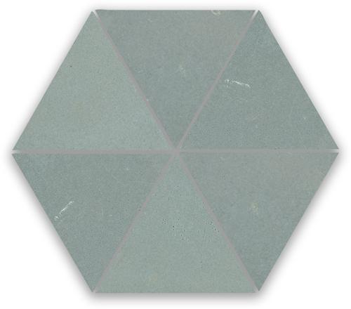 Zellige Ciment Triangle