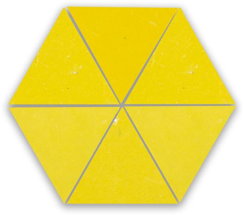 SAM Zellige Citron Triangle
