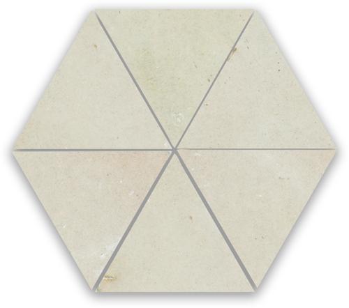 Zellige Ecru Triangle