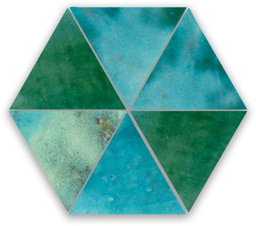SAM Zellige Jean Triangle