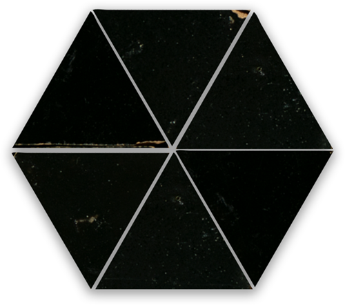 SAM Zellige Noir Triangle