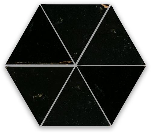 Zellige Noir Triangle