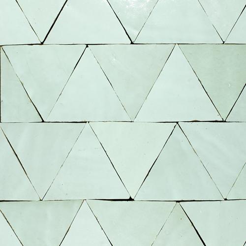 SAM Zellige Blanc Triangle