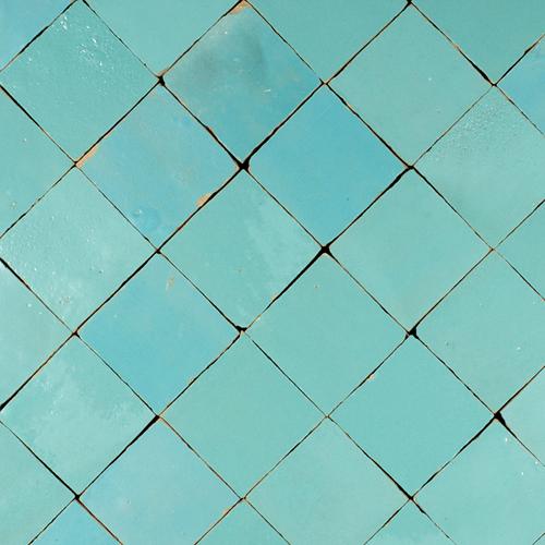 Zellige Bleu Celeste Mat 5x5cm