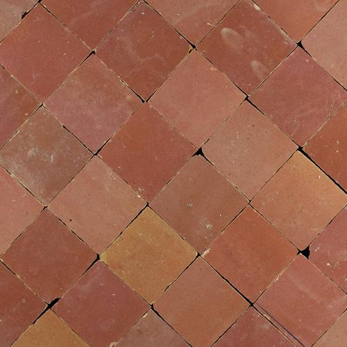Zellige Rose Rouge 5x5cm