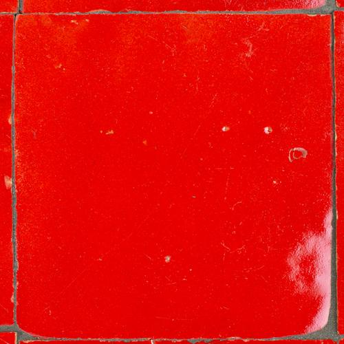 Zellige Rouge Sang 5x5cm