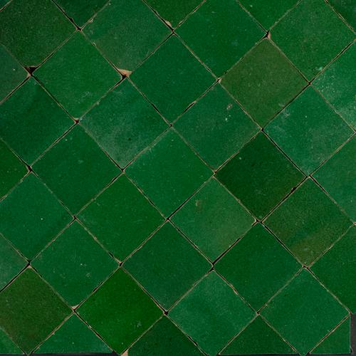 Zellige Vert Foncee 5x5cm