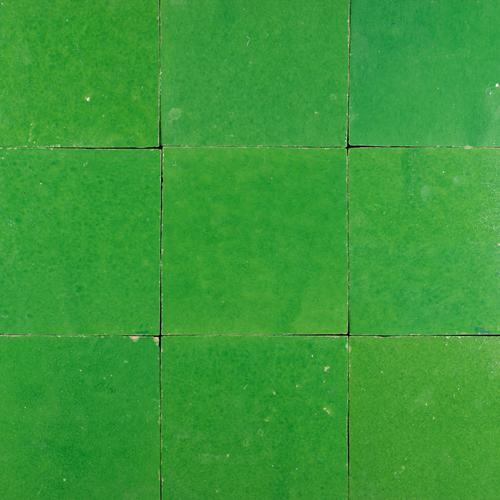 Zellige Vert Pomme 10x10cm