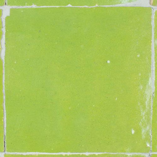 SAM Zellige Vert Olive 10x10cm
